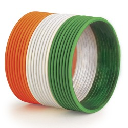 Wholesaler and Manufacturer for tricolor bangles in Delhi