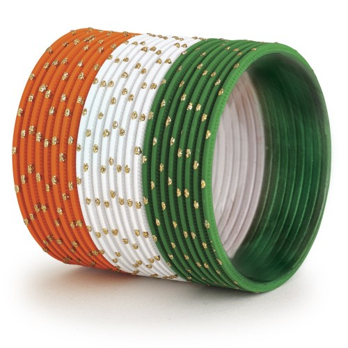 Wholesaler and Manufacturer for Tiranga bangles in Delhi